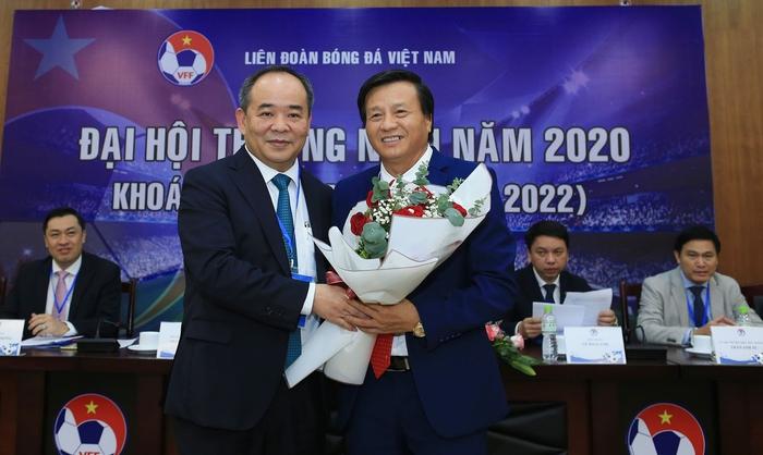 Liên đoàn bóng đá Việt Nam có Phó chủ tịch phụ trách Tài chính mới, đề ra kế hoạch tổ chức 2 trận đấu đặc biệt vào cuối năm 2020 - Ảnh 1.