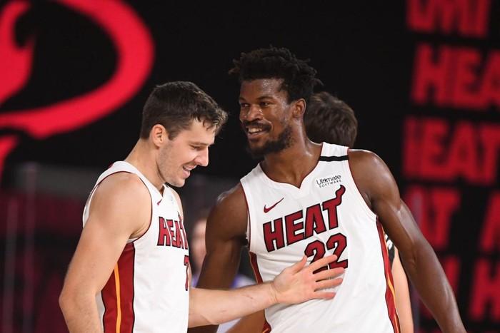 Goran Dragic gia hạn hợp đồng với Miami Heat do bị Butler doạ đánh?  - Ảnh 2.