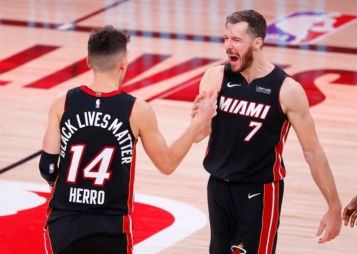 Goran Dragic gia hạn hợp đồng với Miami Heat do bị Butler doạ đánh?  - Ảnh 3.