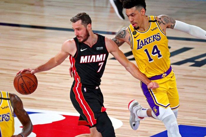 Goran Dragic gia hạn hợp đồng với Miami Heat do bị Butler doạ đánh?  - Ảnh 1.