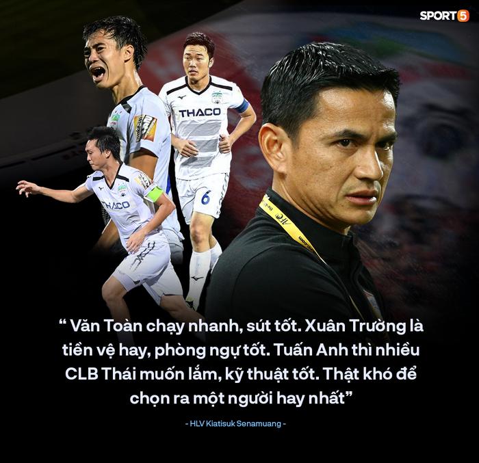 """""""Zico Thái"""" Kiatisuk: HAGL có rất nhiều cầu thủ giỏi, họ đủ sức vô địch V.League - Ảnh 1."""