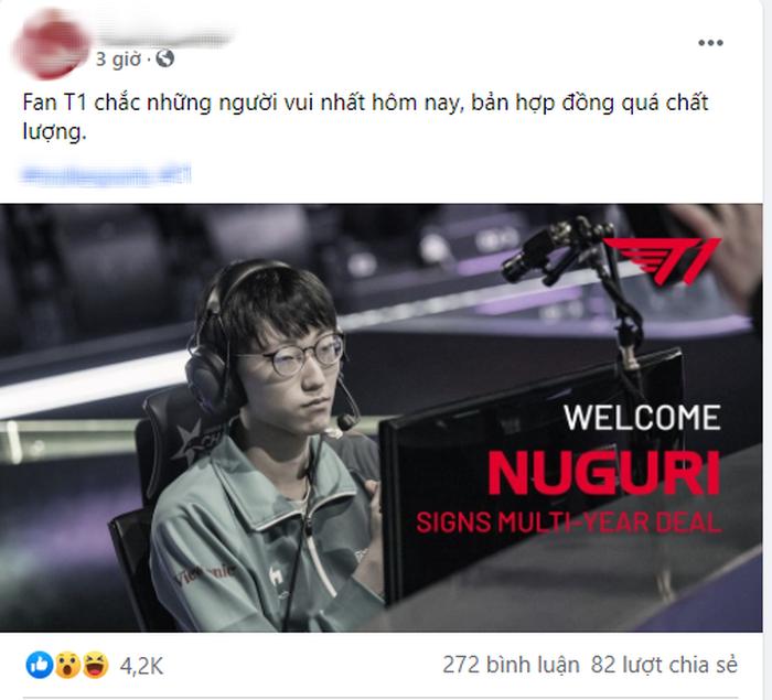 Hàng loạt fanpage Việt Nam đưa tin T1 chiêu mộ thành công Nuguri, thực hư ra sao? - Ảnh 1.