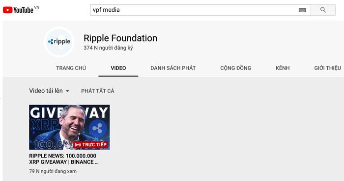 VPF bị hacker chiếm kênh Youtube gần 400.000 lượt theo dõi, thành nơi giới thiệu tiền ảo - Ảnh 2.