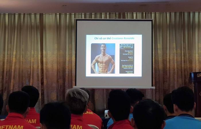 Quang Hải có tỷ lệ mỡ thấp đáng kinh ngạc, sánh ngang Cristiano Ronaldo - Ảnh 3.
