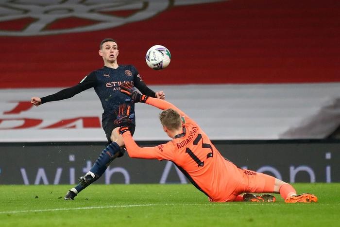 Arsenal thất bại nặng nề trước Man City, nối dài chuỗi trận đen tối - Ảnh 4.