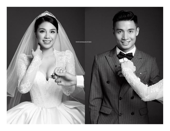 Ngắm trọn bộ ảnh cưới tình bể bình của Tiến Dũng - Khánh Linh: Cô dâu xinh mọi concept, chú rể phong độ miễn chê - Ảnh 6.