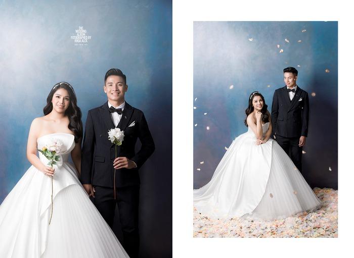 Ngắm trọn bộ ảnh cưới tình bể bình của Tiến Dũng - Khánh Linh: Cô dâu xinh mọi concept, chú rể phong độ miễn chê - Ảnh 1.