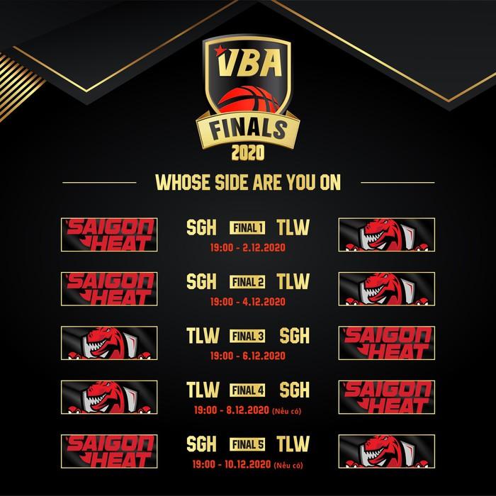 Lo ngại dịch bệnh Covid-19, loạt trận còn lại của Finals 2020 không cho người hâm mộ vào VBA Arena - Ảnh 3.