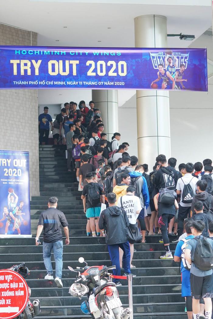 Hochiminh City Wings lập kỷ lục Tryout của VBA 2020, hướng đến mục tiêu ươm mầm tài năng tương lai cho đội bóng - Ảnh 1.