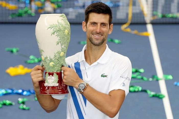 Djokovic chính thức cân bằng kỷ lục vô địch Masters 1000 với Nadal và thực hiện điều chưa tay vợt nào làm được trong lịch sử - Ảnh 1.