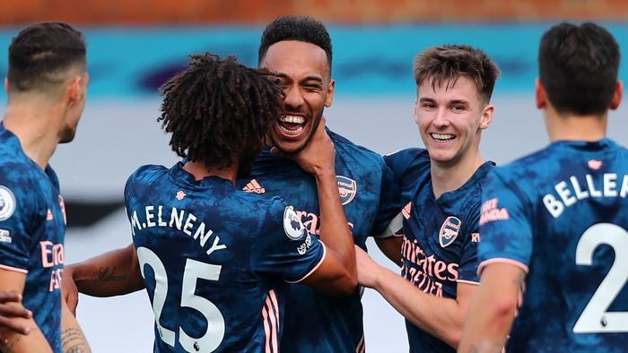 Đội bóng của Arteta thể hiện đầy thuyết phục bằng chiến thắng đậm đà 3-0 ngay tại sân Craven Cottage (Ảnh: Goal).