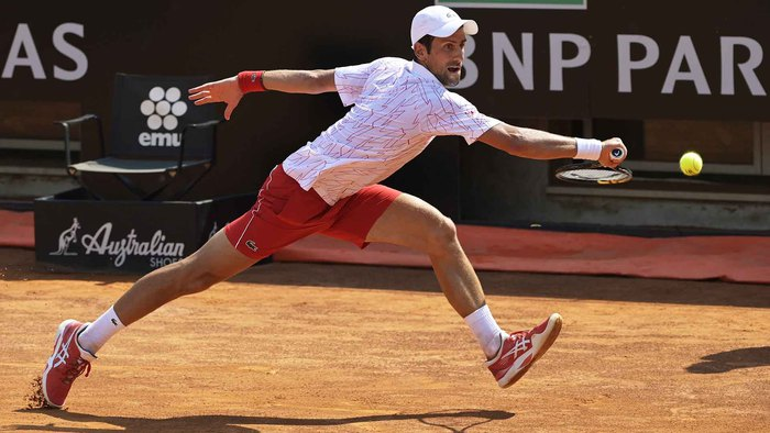 """Vòng 3 Rome Masters 2020: Rafael Nadal thể hiện phong độ hủy diệt, Djokovic """"thoát hiểm"""" gang tấc - Ảnh 3."""