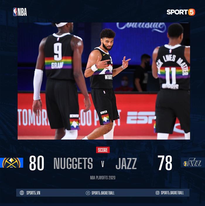 """Đạp vào """"vết xe đổ"""" của Golden State Warriors, Utah Jazz chia tay Playoffs sau khi dẫn trước 3-1 - Ảnh 1."""