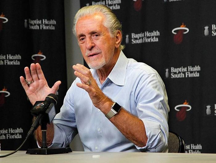 Phong độ rực cháy của Tyler Herro ở NBA Playoffs đã được Chủ tịch Pat Riley nhìn ra từ một năm về trước? - Ảnh 4.