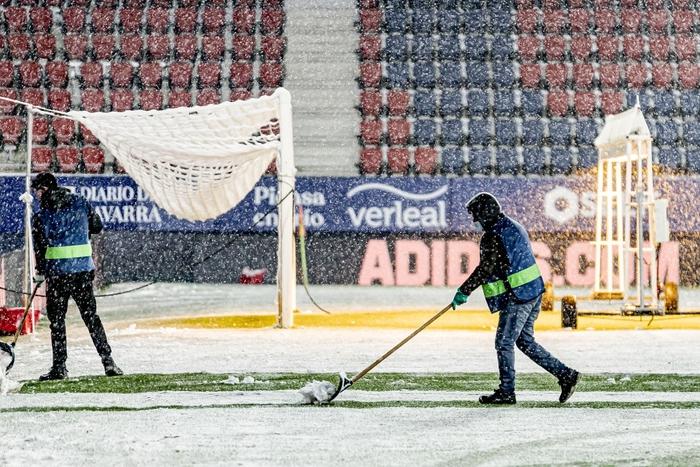 Real Madrid hòa không bàn thắng trong điều kiện thời tiết khắc nghiệt - Ảnh 2.