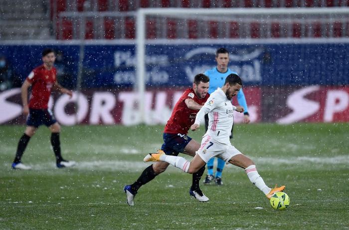 Real Madrid hòa không bàn thắng trong điều kiện thời tiết khắc nghiệt - Ảnh 4.