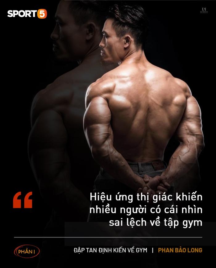 """Đập tan định kiến về gym (phần 1): Tập thể hình tự nhiên không thể làm teo """"cậu nhỏ"""" - Ảnh 3."""