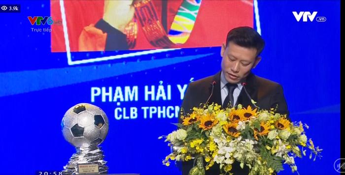 BTC lễ trao giải Quả bóng vàng 2020 nhầm lẫn nghiêm trọng: Văn Quyết thuộc CLB Viettel, Bùi Tiến Dũng thành người của CLB Hà Nội  - Ảnh 2.