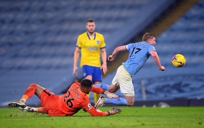 Man City lại thắng, sẵn sàng đe dọa ngôi đầu của Man Utd - Ảnh 4.