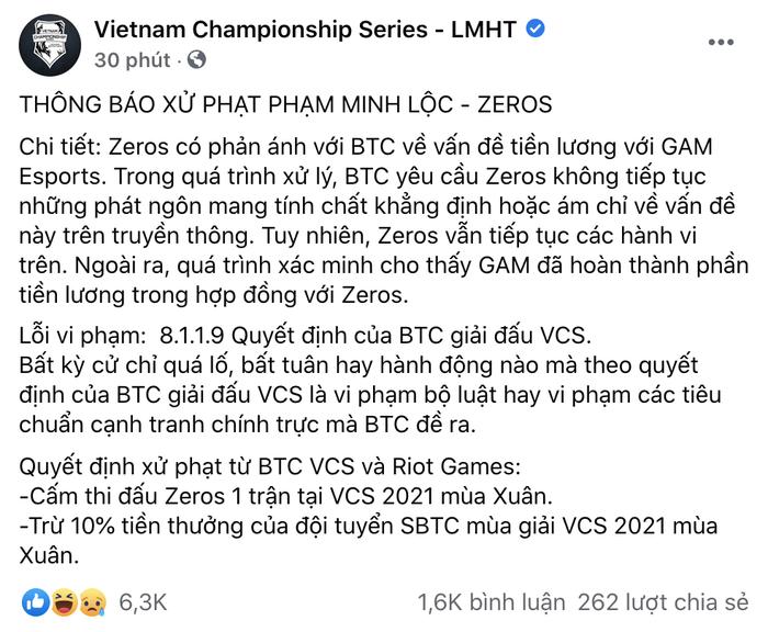 Lắm tài nhiều tật, Zeros chính là chàng trai vàng trong làng ăn phạt của LMHT Việt - Ảnh 6.