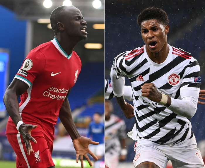 Đồ họa chi tiết so sánh sự khác biệt hai trường phái bóng đá của Liverpool và MU - Ảnh 1.