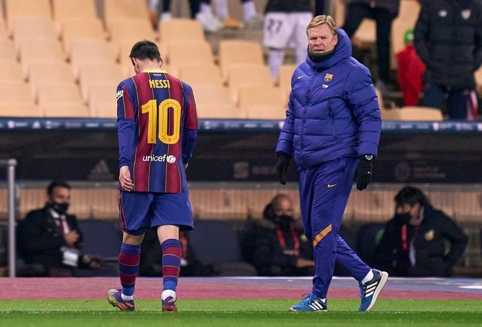 Messi ăn thẻ đỏ, Barca thất bại ở chung kết Siêu Cúp Tây Ban Nha - Ảnh 8.