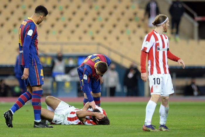 Messi ăn thẻ đỏ, Barca thất bại ở chung kết Siêu Cúp Tây Ban Nha - Ảnh 7.