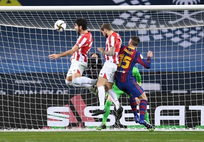 Messi ăn thẻ đỏ, Barca thất bại ở chung kết Siêu Cúp Tây Ban Nha - Ảnh 3.