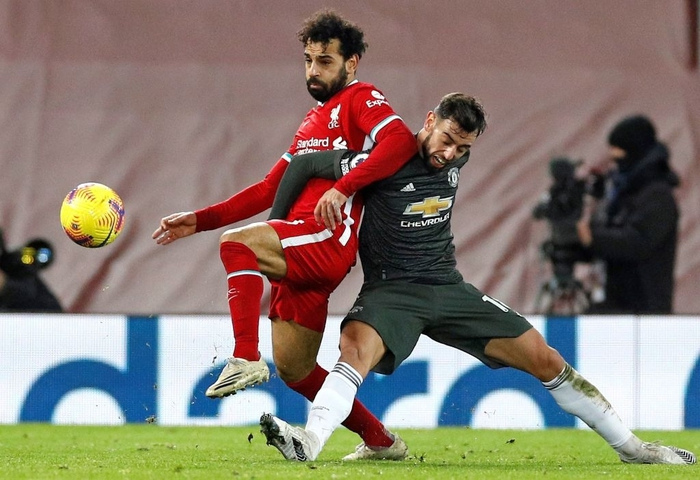 Bất phân thắng bại với kình địch Liverpool, Man Utd vững vàng trên ngôi đầu - Ảnh 1.