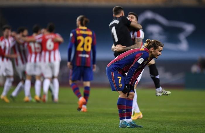 Messi ăn thẻ đỏ, Barca thất bại ở chung kết Siêu Cúp Tây Ban Nha - Ảnh 9.