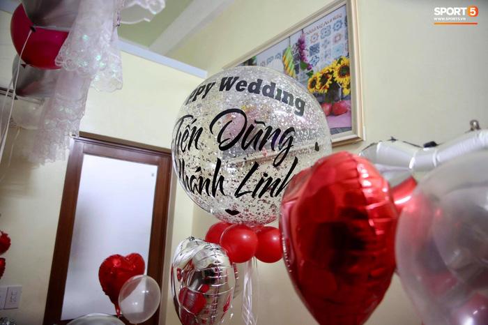 Bật mí phòng tân hôn nhỏ xinh, ấm cúng của Tiến Dũng và Khánh Linh - Ảnh 1.