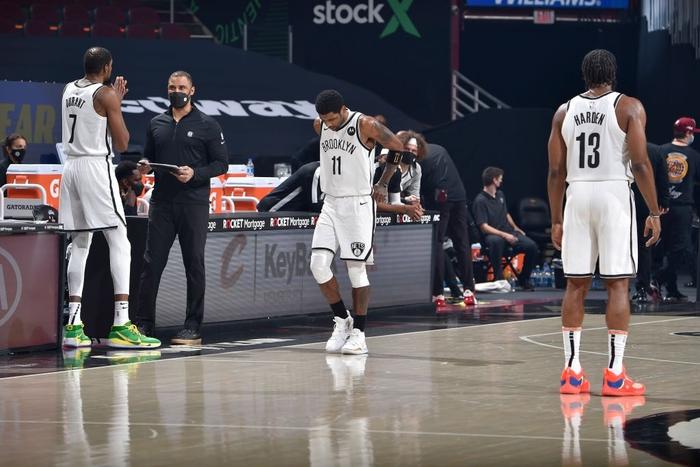 Lần đầu kết hợp Big-3, Brooklyn Nets nhận trái đắng trước màn trình diễn đỉnh cao của Collin Sexton - Ảnh 1.
