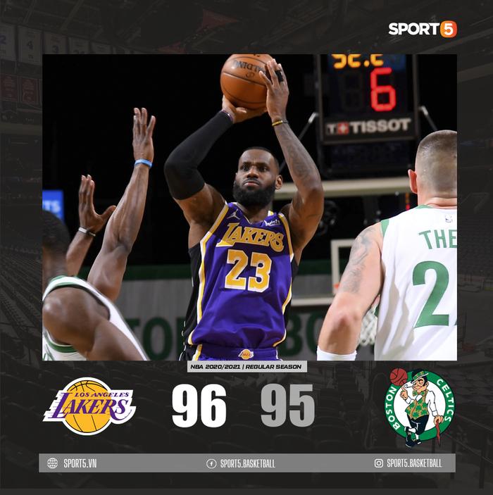 Mắc sai lầm chí mạng, Los Angeles Lakers thoát chết ngoạn mục trước Boston Celtics - Ảnh 3.