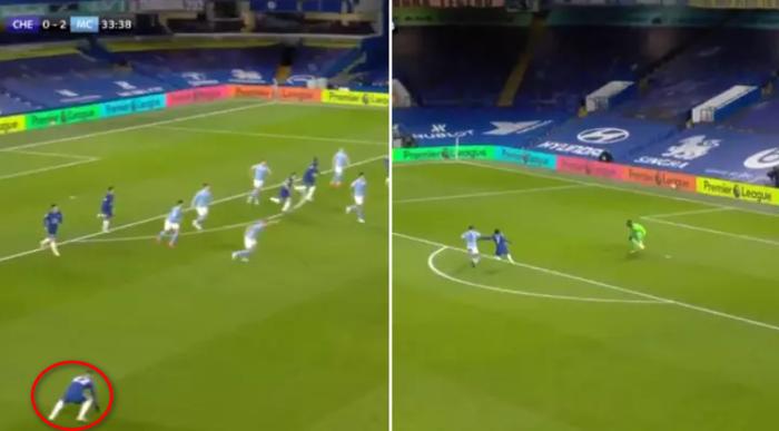 Sao Chelsea ở trận thua thảm Man City: Người tự đá vào chân mình gây chấn thương ngớ ngẩn, kẻ bị tố lười biếng bỏ mặc đồng đội oằn mình chống đỡ bàn thua - Ảnh 1.