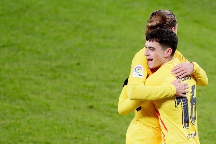 Messi lập cú đúp, Barca thắng Bilbao để vươn lên top 3 - Ảnh 2.