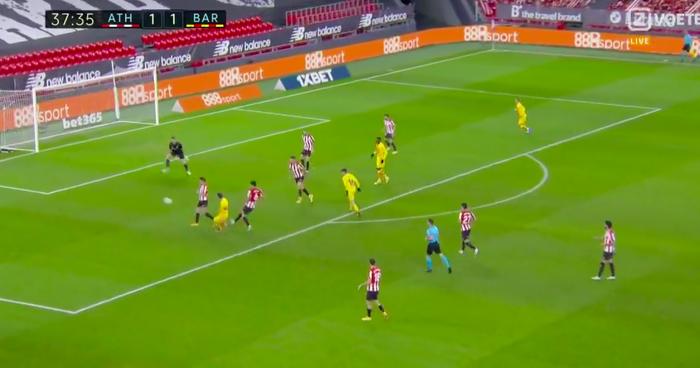 Messi lập cú đúp, Barca thắng Bilbao để vươn lên top 3 - Ảnh 3.