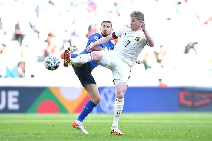 Bị xà ngang, cột dọc từ chối 3 bàn thắng, Bỉ bất lực chứng kiến Ý giành hạng 3 Nations League - Ảnh 10.
