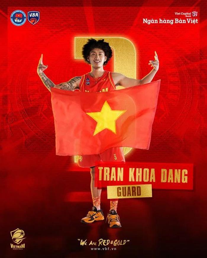 Khoa Trần tiếp tục vắng mặt trong trận tái đấu tuyển bóng rổ Quốc gia và Danang Dragons - Ảnh 1.