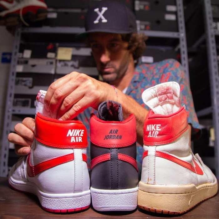 Đôi giày thi đấu của Michael Jordan được bán đấu giá 1 triệu USD và đó không phải là Jordan 1 - Ảnh 4.