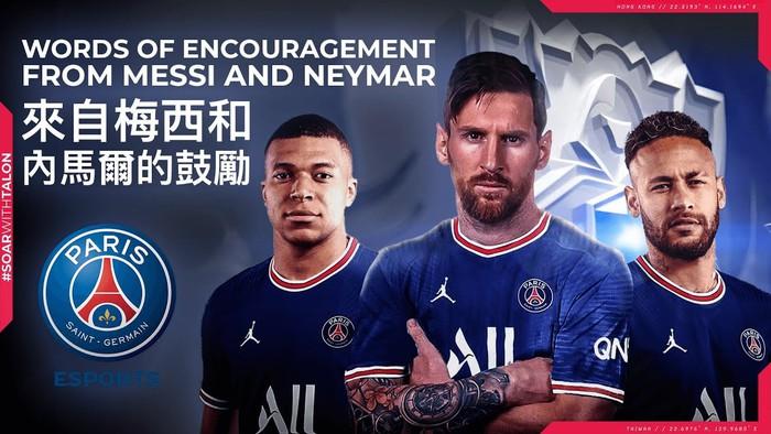 Lionel Messi cùng dàn sao PSG gửi lời chúc đến PSG Talon ở CKTG 2021