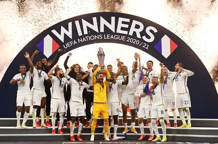 Bộ đôi Mbappe - Benzema tỏa sáng đưa Pháp lên ngôi tại Nations League sau 90 phút kịch tính - Ảnh 9.
