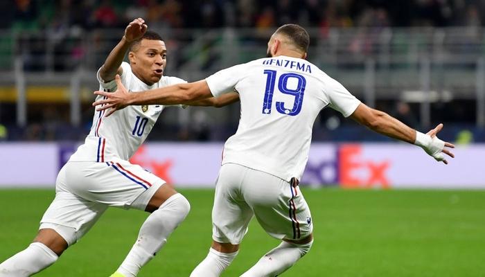 Bộ đôi Mbappe - Benzema tỏa sáng đưa Pháp lên ngôi tại Nations League sau 90 phút kịch tính - Ảnh 8.