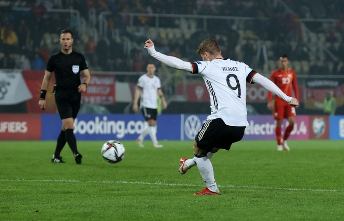 Bộ đôi Chelsea tỏa sáng giúp Đức sớm giành vé dự World Cup 2022 - Ảnh 4.