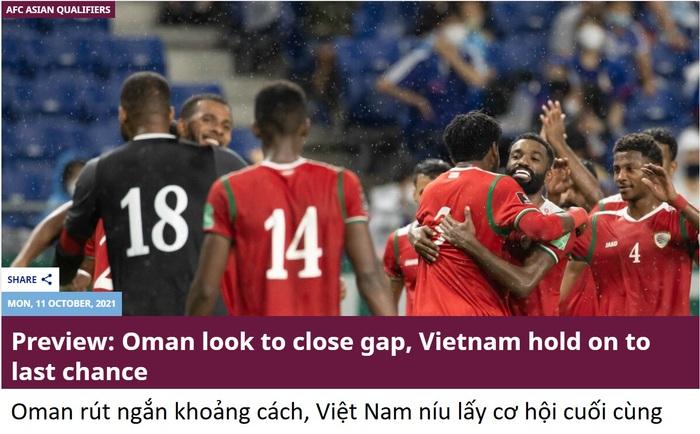 AFC: Đội tuyển Việt Nam níu lấy cơ hội cuối cùng ở trận gặp Oman - Ảnh 2.