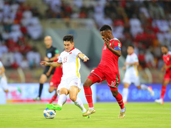 Tiến Linh mở tỷ số, tuyển Việt Nam vẫn thua ngược Oman trong trận đấu