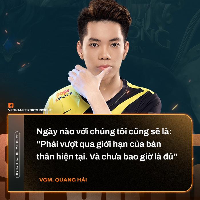 VGM.Quang Hải chỉ ra sự khác biệt giữa Gray và ADC, đặt mục tiêu giành vé dự chung kết ĐTDV mùa Đông 2021 - Ảnh 1.