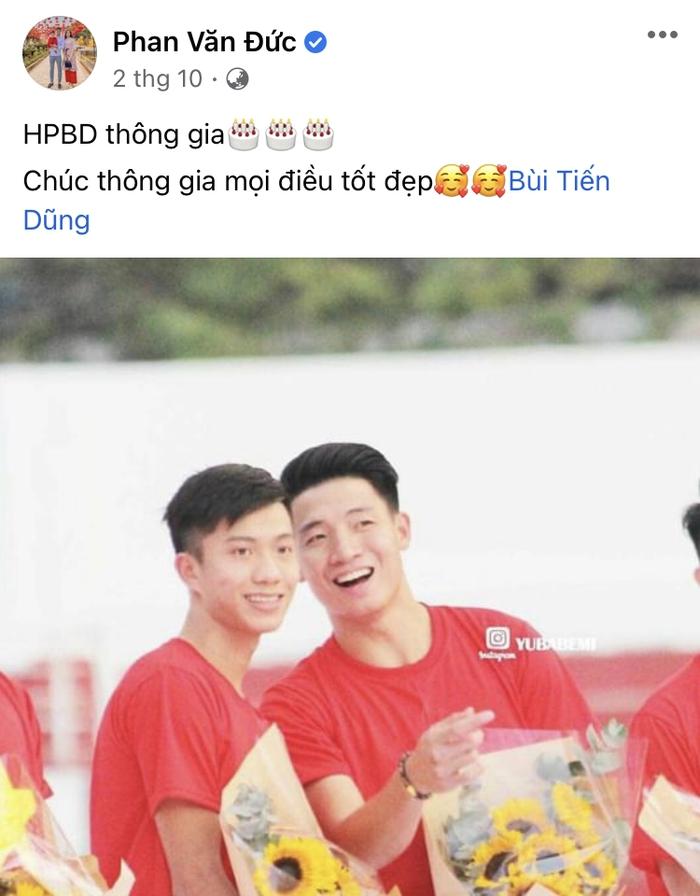 Vợ chồng Phan Văn Đức báo tin có bé trai, nhận thông gia với nhà Bùi Tiến Dũng - Ảnh 2.