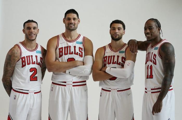 Michael Jordan tự tin về khả năng cạnh tranh của Chicago Bulls trong mùa giải mới - Ảnh 1.