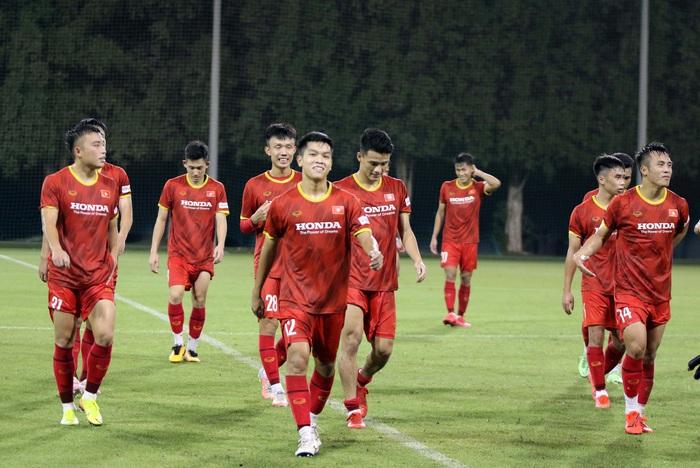 """U23 Việt Nam hào hứng tập luyện tại nơi từng được Manchester United """"bao trọn"""" - Ảnh 8."""