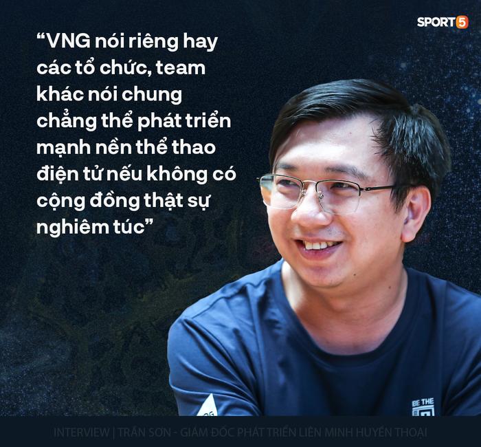 Giám đốc Trần Sơn: Esports Việt đặt nặng thành tích mà quên đi những thứ quan trọng không kém - Ảnh 9.